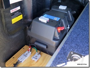 Aux Car Battery Electrical Power