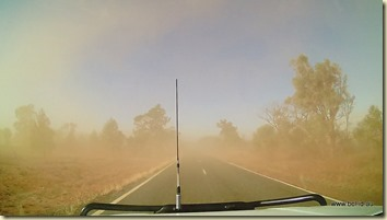 Dust storms near Nyngan