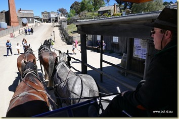 Sovereign Hill Ballarat Carriage Ride